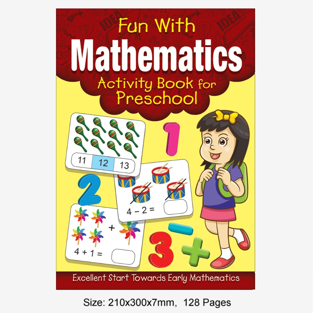 Fun With Mathematics Activity Book for Preschool (MM77189)