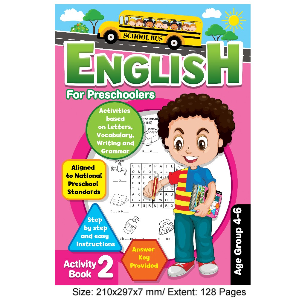 English for Preschoolers Activity Book 2 (MM77547)