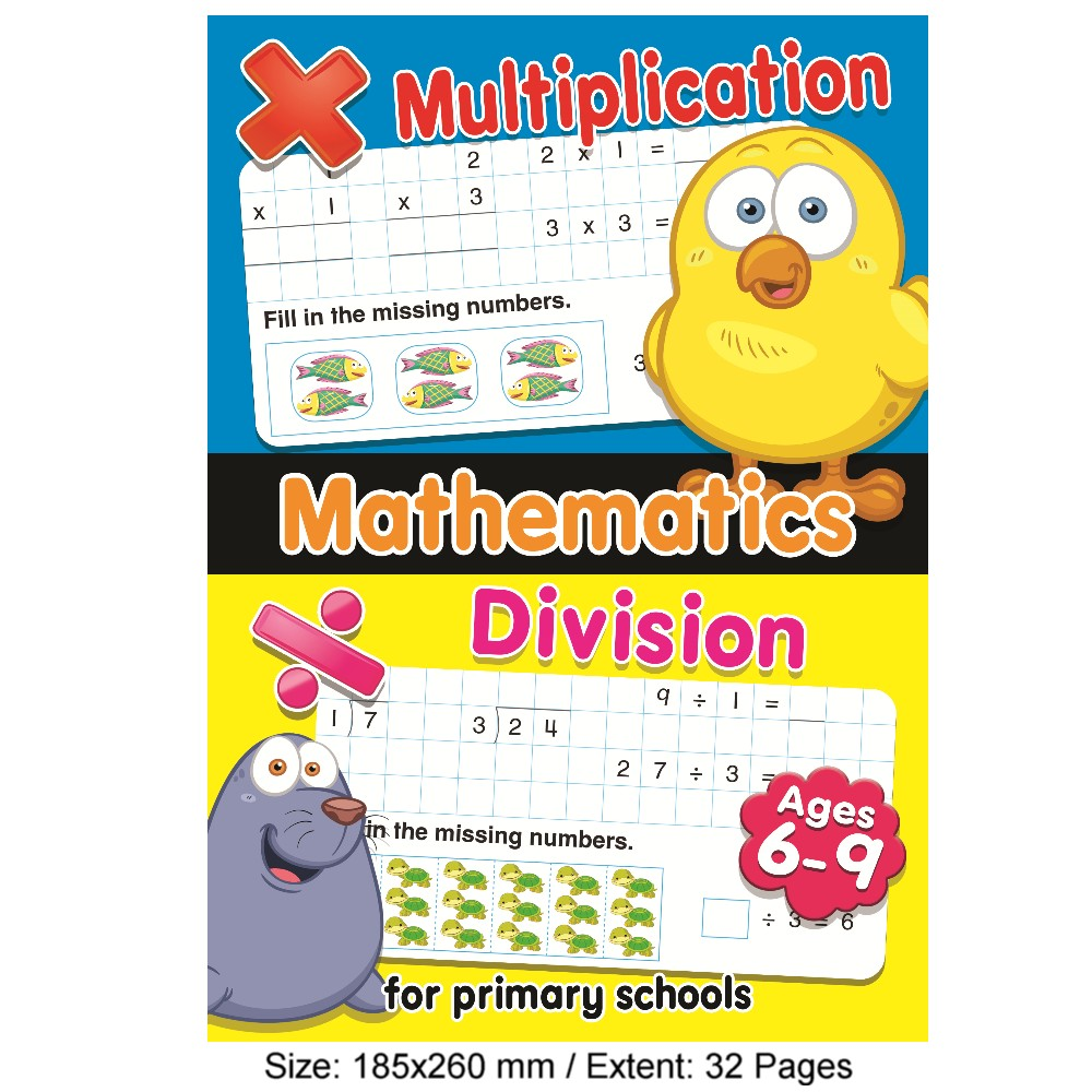 Mathematics Multiplication & Division (MM77622)