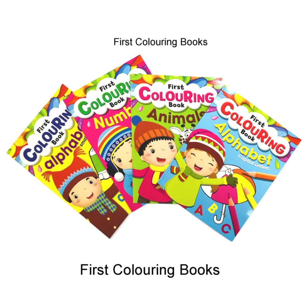 First Colouring Books