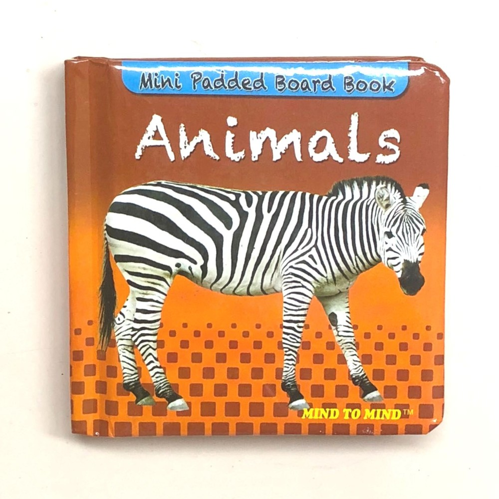 Mini Padded Board Book Animals MM84212