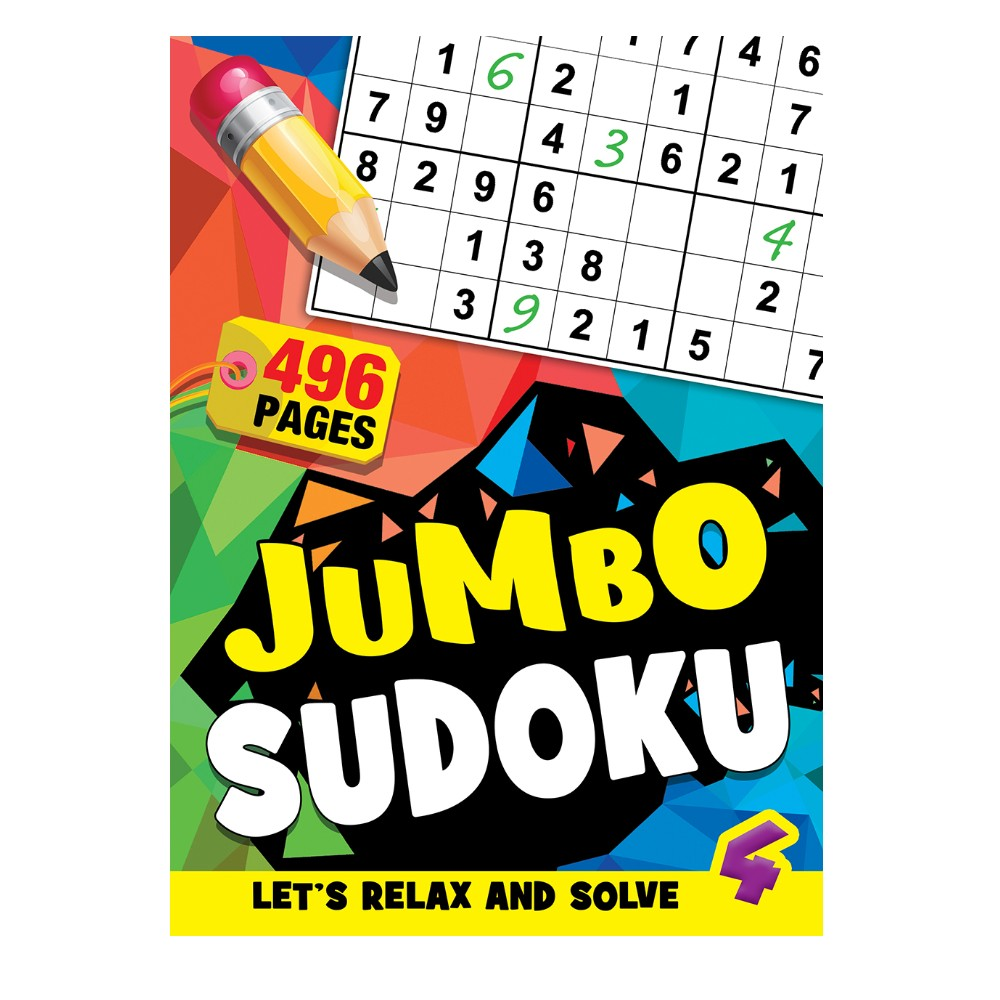 496 Pages Sudoku Book 4 (MM99809)