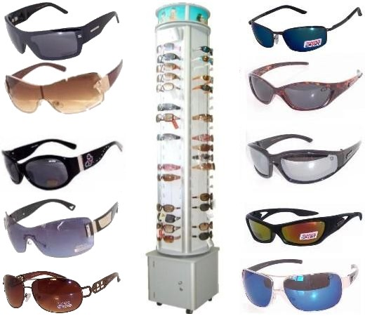 168 Pair Fashion & Sports Sunglasses Package Sale (Cooleyes, Guzzi, Choppers Swisssport, Xsports, Locs etc.)
