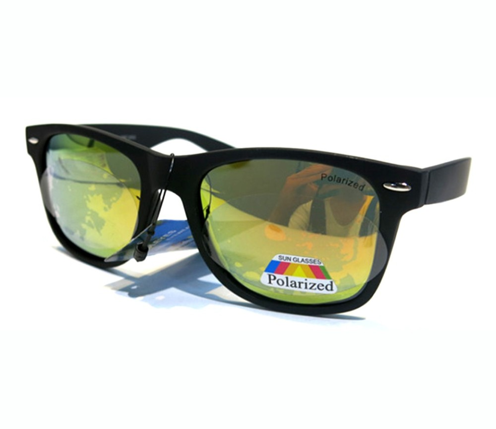 Fashion Polarized Sunglasses (Matte Black Frame) PP1301-2