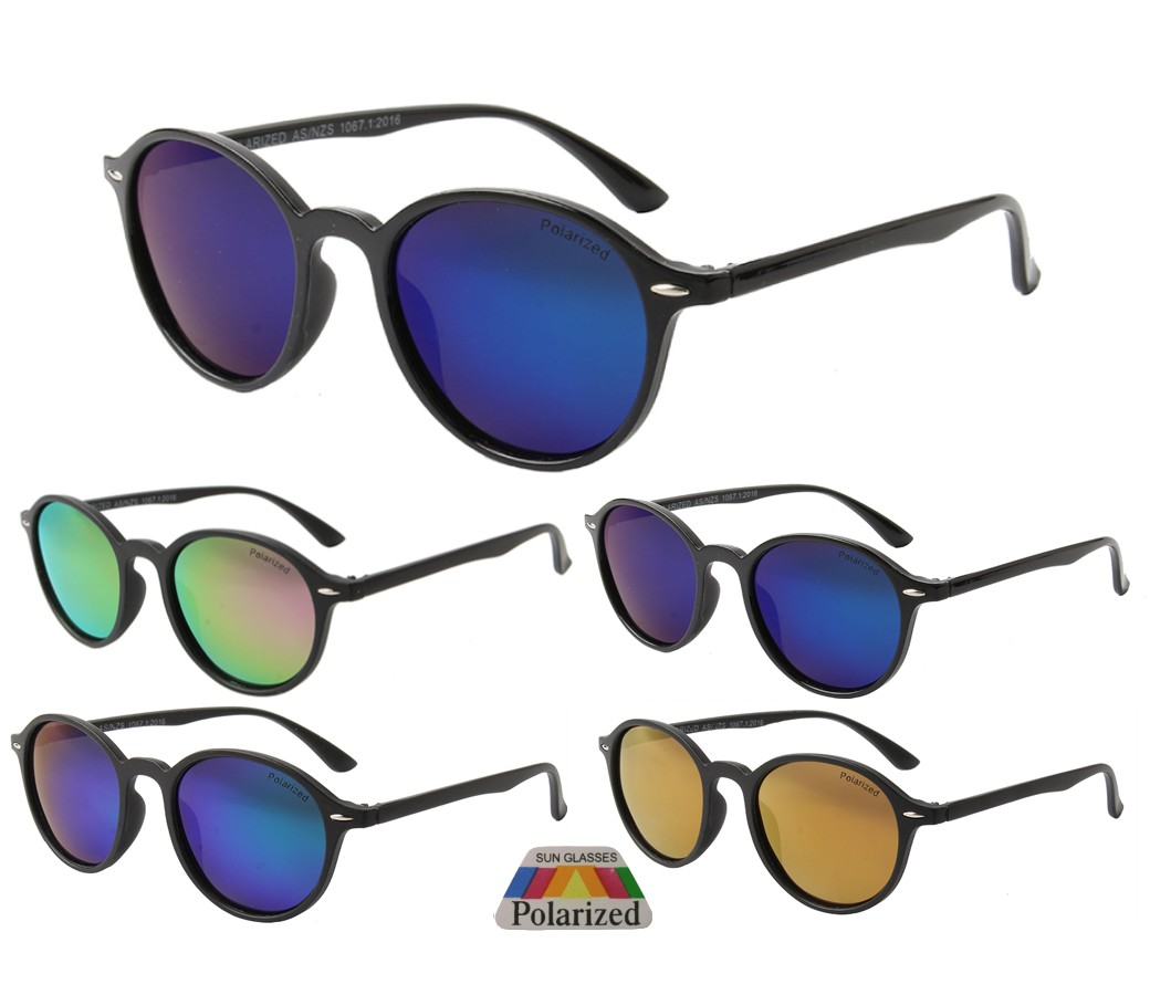 The Bondi Collection Fashion Plastic Polarized Tinted Lens Sunglasses PPF5307-2