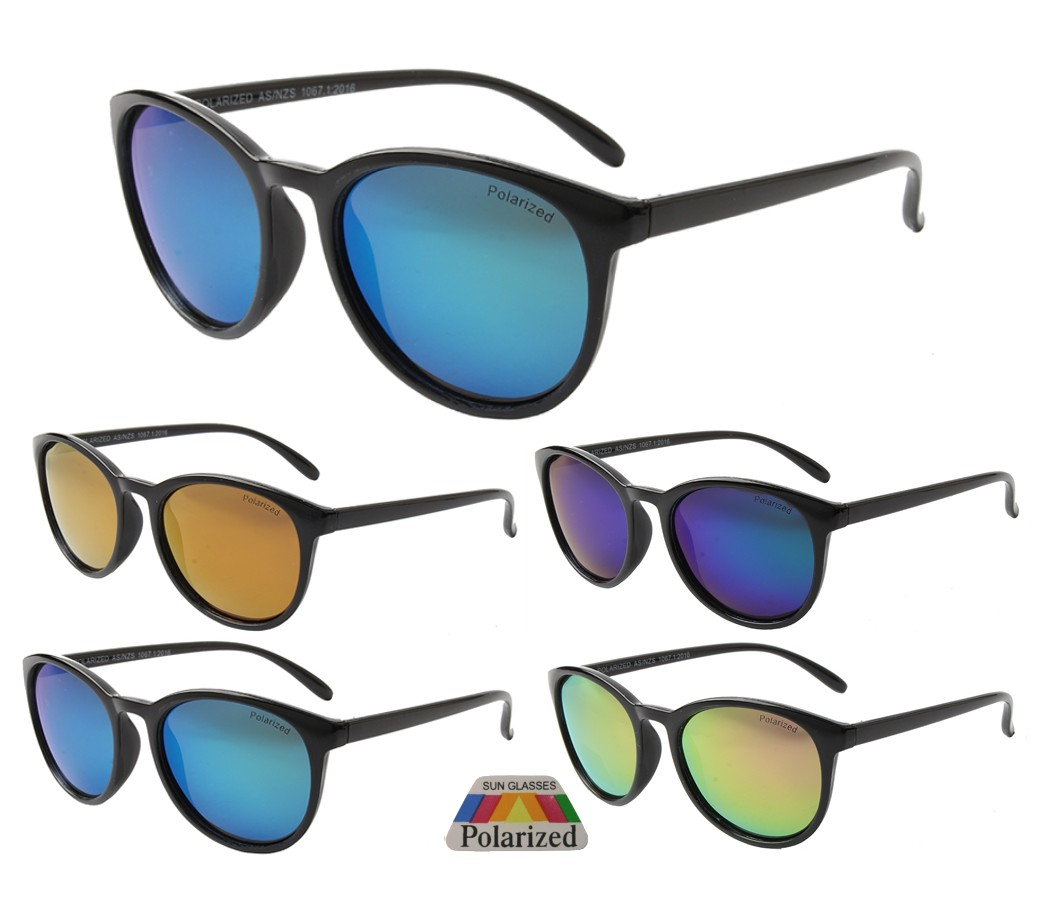 The Bondi Collection Fashion Plastic Polarized Tinted Lens Sunglasses PPF5308-2