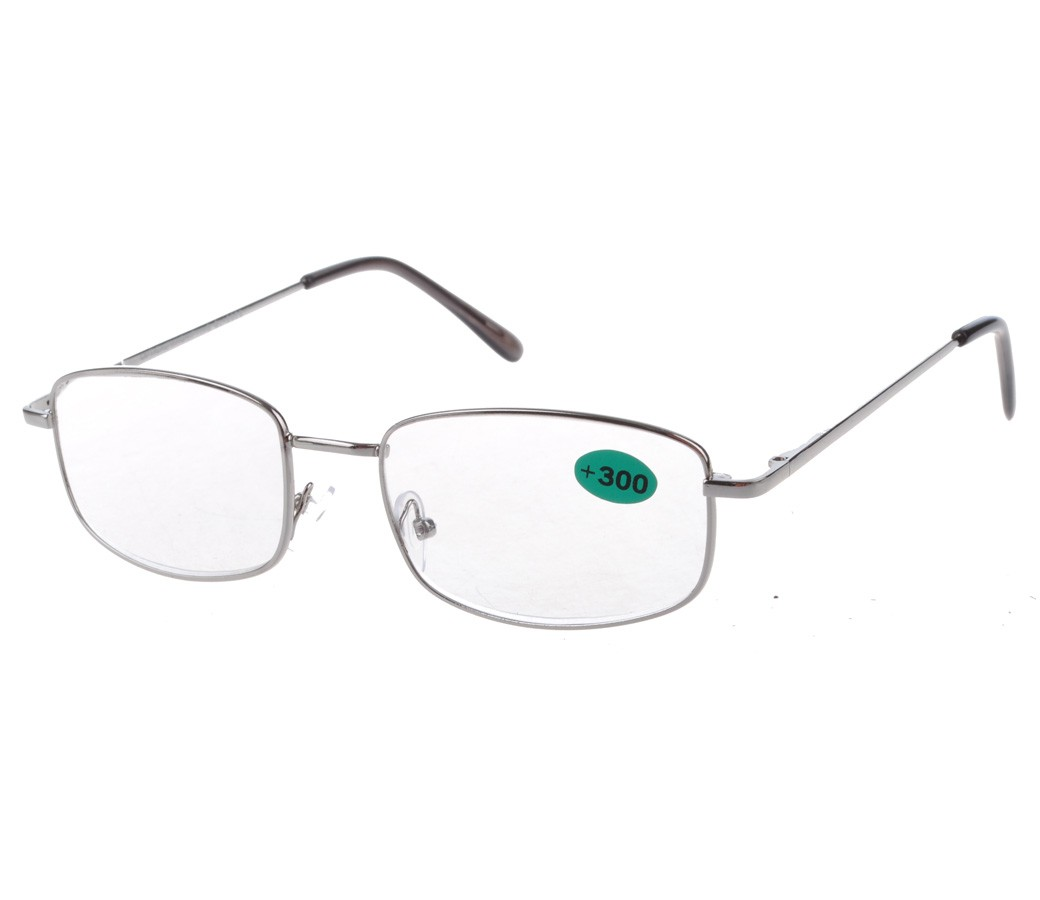 Reading Glasses Metal Frame Spring Temple R9007