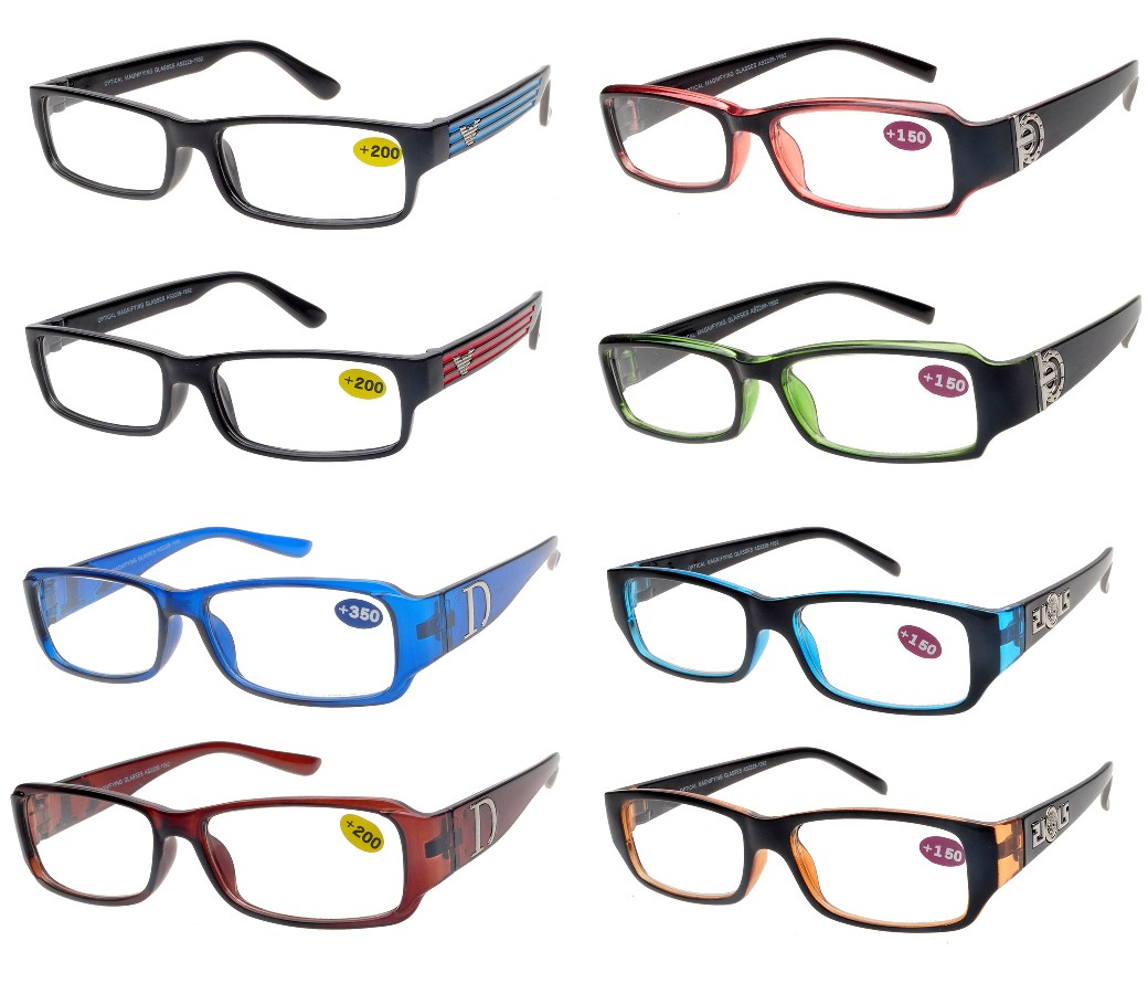 Bulk Buy Reading Glasses 4 Style Asort. (Start from 25 doz) R9027/47/48/52