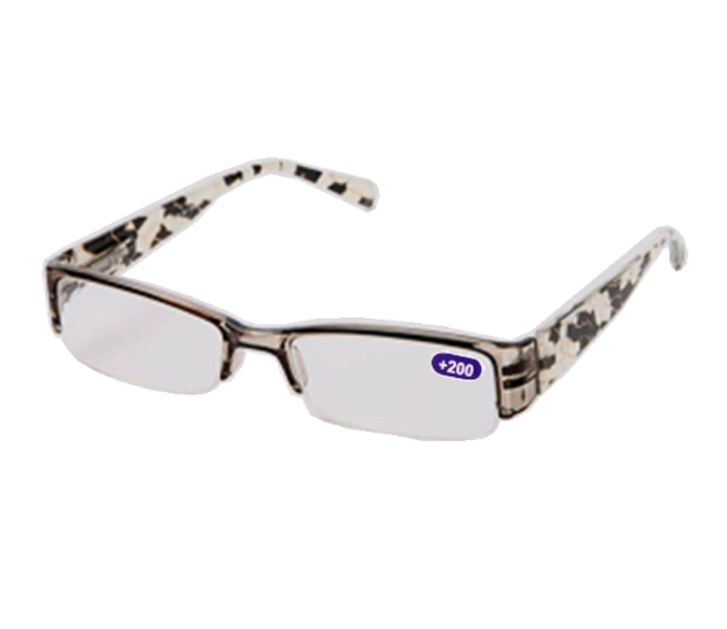 My Plastic Frame Glasses Are Crooked : Fashion Reading Glasses Plastic Half Frame R9064 [R9064 ...