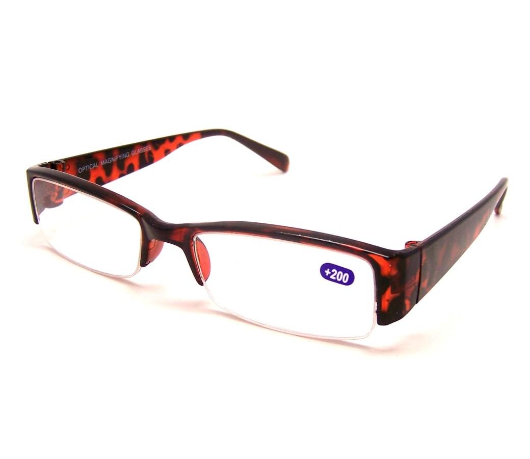 Half Frame Reading Glasses Australia : Fashion Reading Glasses Plastic Half Frame R9064 [R9064 ...
