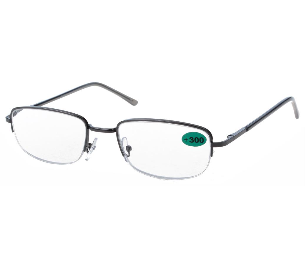 Half Frame Reading Glasses Australia : Fashion Reading Glasses Metal Half Frame R9080 [R9080 ...