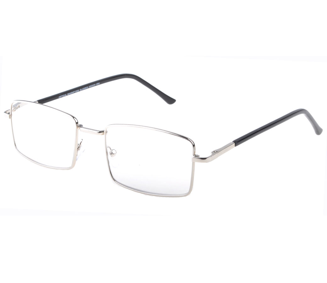 Reading Glasses Metal Frame Spring Temple R9107