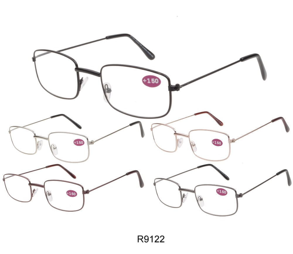 Cooleyes Metal Unisex Reading Glasses 4 Style Asst R9120/21/22/23