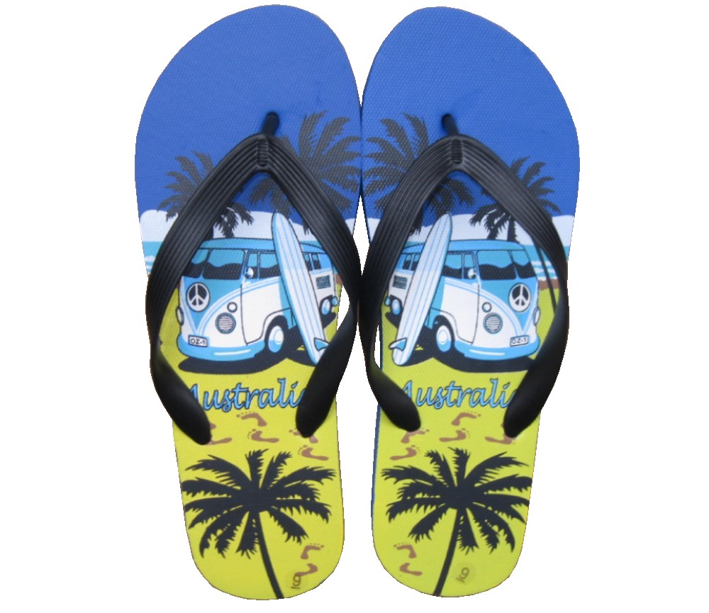 Beach Sandals Mens (Combi Van Surf) SLP-M225