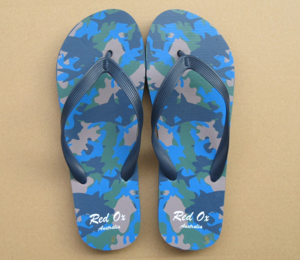 Beach Sandals Mens (Sharks Camouflage) SLP-M232