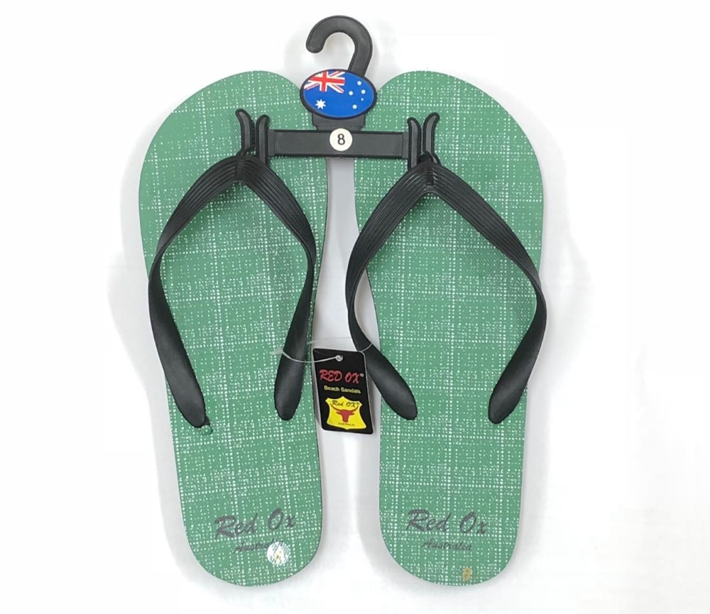 Mens Beach Sandals - Green SLP-M236