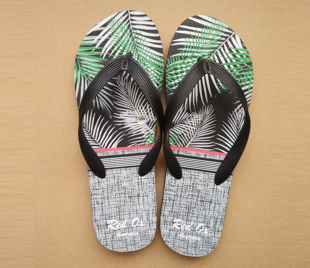 Mens Beach Sandals - Coconet Tree Grey SLP-M239