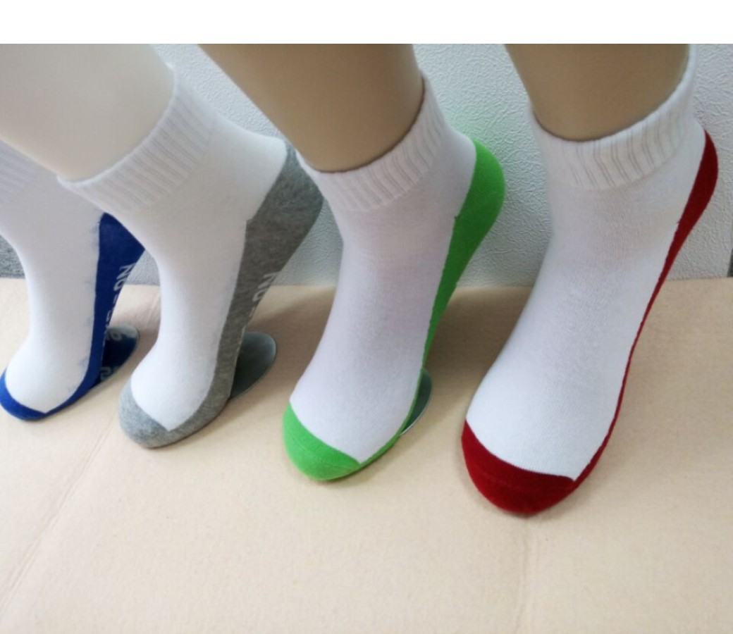 Cotton Socks - Mens Sport (4Pair Asst Colors Pack) Size:6-10 SOC103-P4