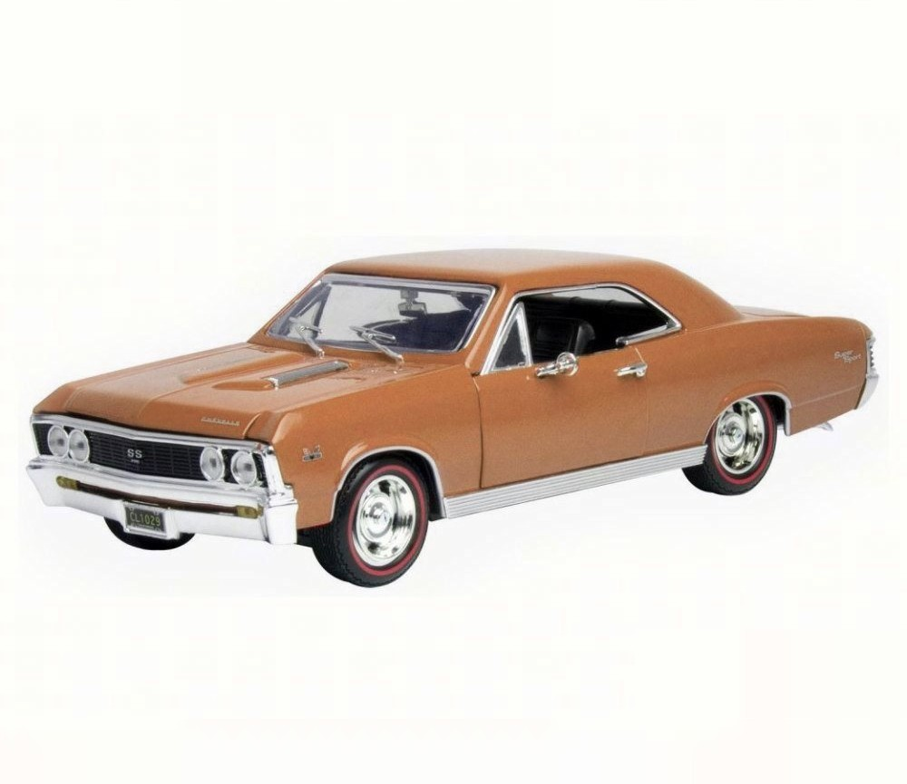 1:18 1967 Chevy Chevelle SS396 (Golen Brown) MM73104GB