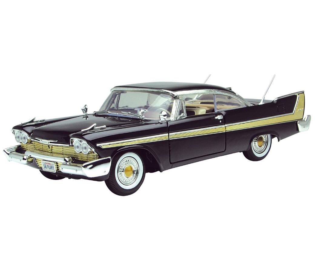 1 18 1958 Plymouth Fury Black Mm73115bk Mm73115bk Au