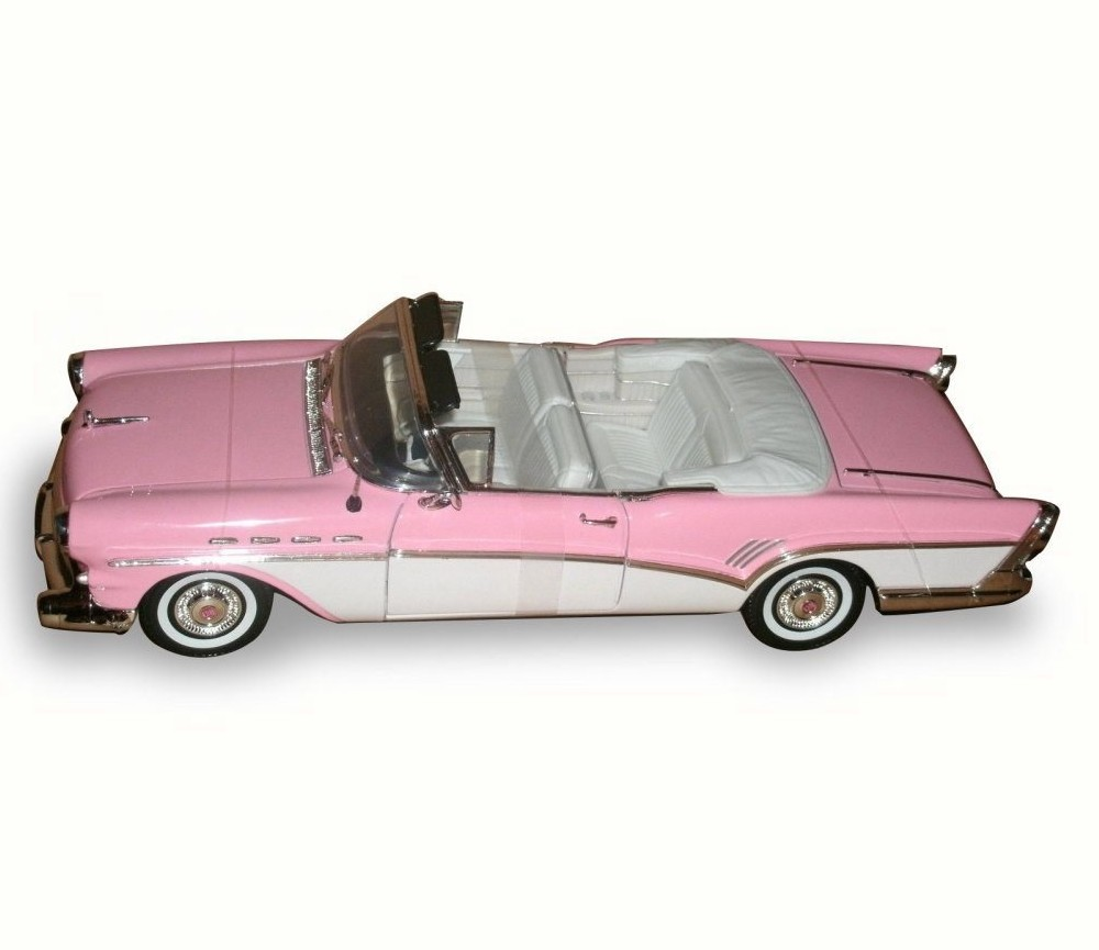 1954 Buick Roadmaster For Sale 1865222: 1:18 1957 Buick Roadmaster (Pink/White)MM73152PK