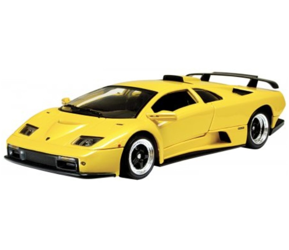 1 18 lamborghini diablo gt metallic yellow mm73168my mm73168my au wholesale. Black Bedroom Furniture Sets. Home Design Ideas