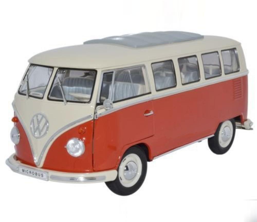 1 18 1963 volkswagen t1 bus window van wl18054w for 18 window vw bus