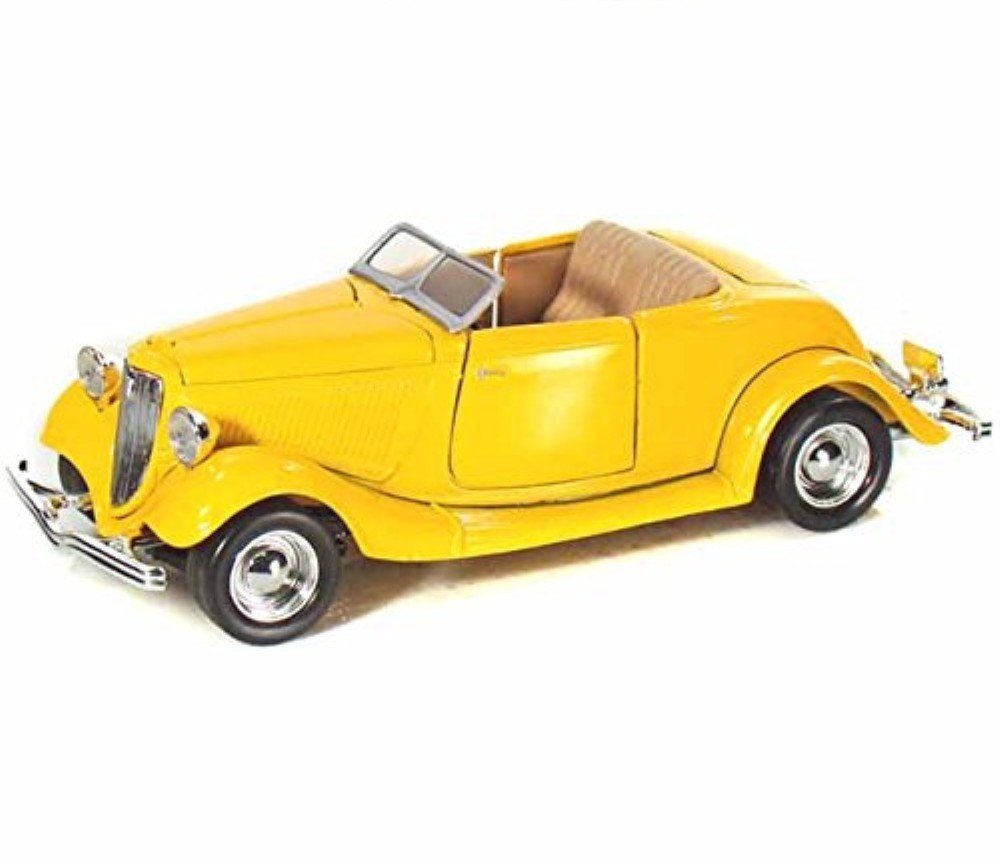 1:24 1934 Ford Coupe (Convertible) Yellow MM73218YL