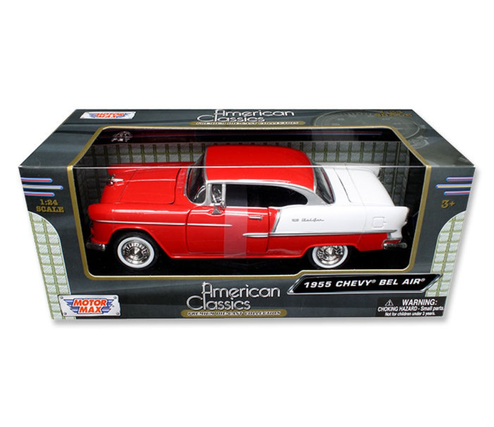 1:24 1955 Chevy Bel Air (Red) MM73229RD