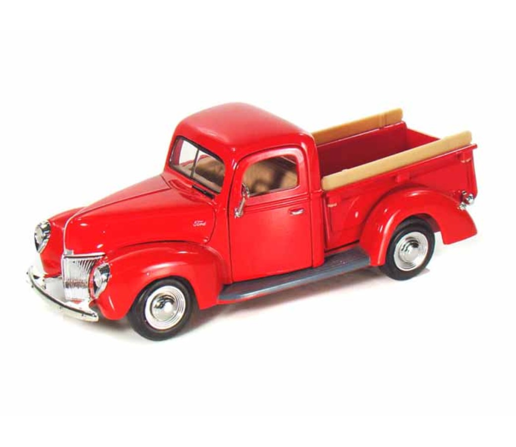 1:24 1940 Ford Pick Up (Red) MM73234RD