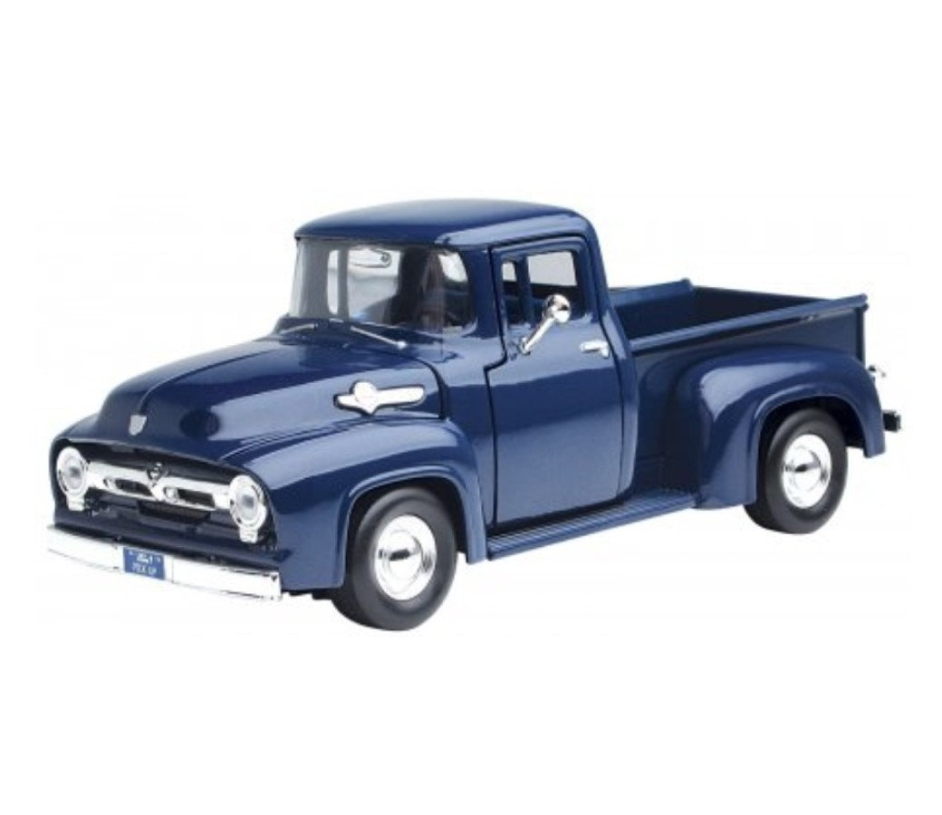 1:24 1956 FORD F-100 PICK UP (Dark Blue) MM73235DB
