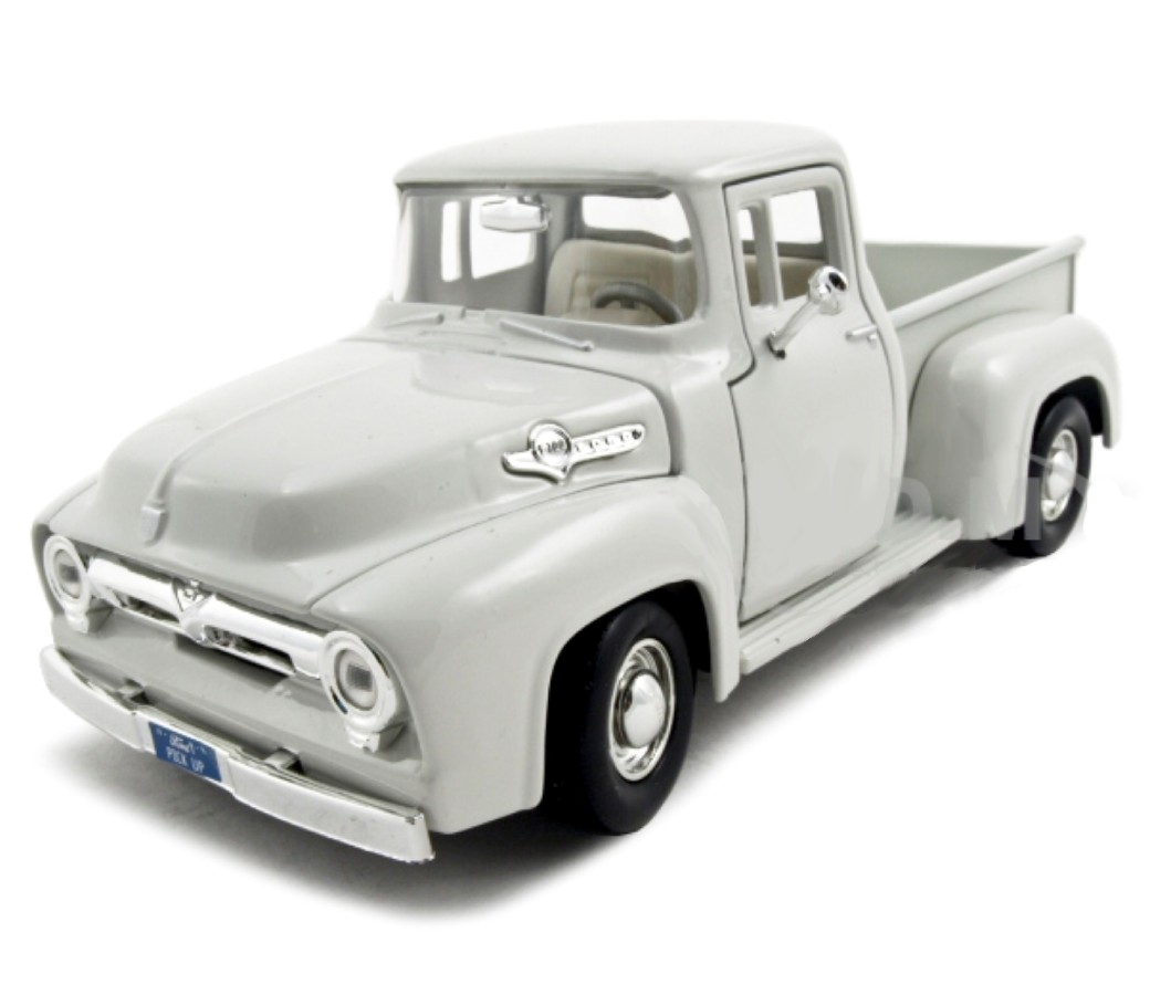 1:24 1956 F-100 Ford Pick Up (White) MM73235WH