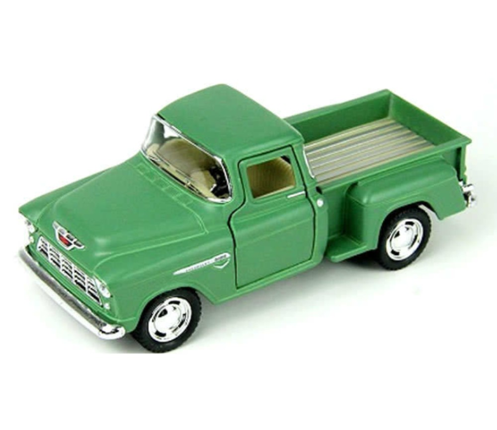 Chevy Stepside Pick up 1955 - 1:24 (Green) MM73236GR