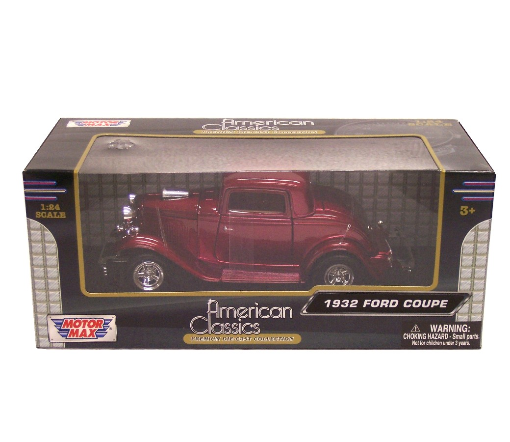 1:24 1932 Ford Coupe (Red) MM73251MR