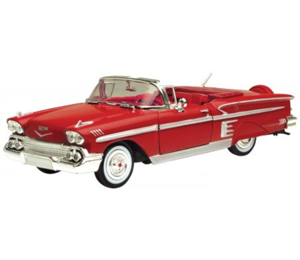 1:24 1958 Chevrolet Impala (Red) MM73267RD