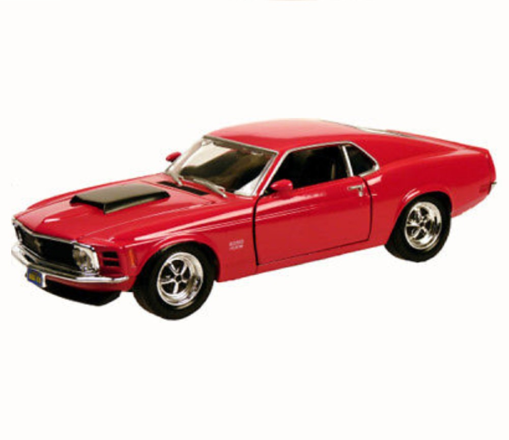 1:24 1970 Ford Mustang Boss 429 (Red) MM73303RD
