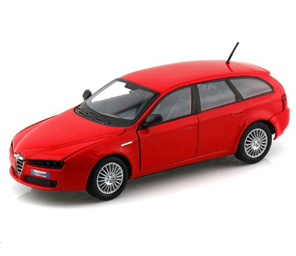 Alfa Romeo 159 SW - 1:24 (Red) MM73372RD