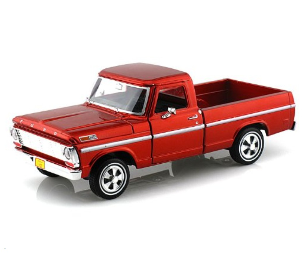 Ford F-100 Pickup 1969 - 1:24 (Red) MM79315RD