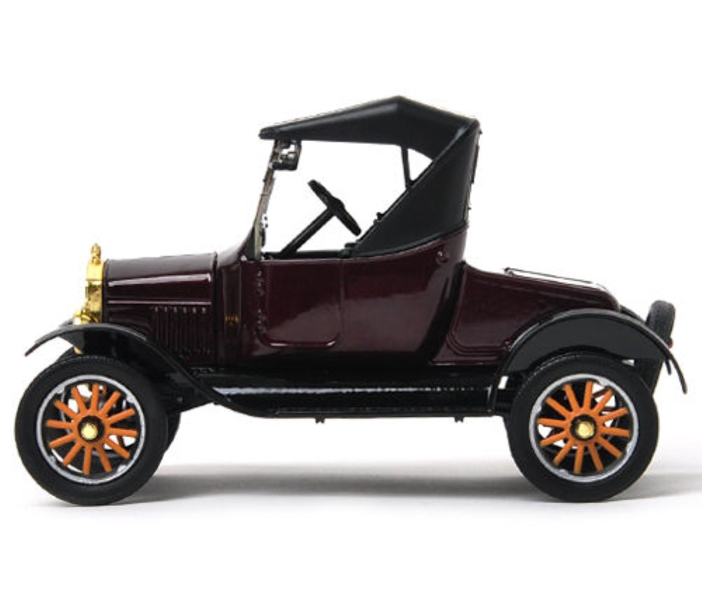 1:24 1925 Ford Model T - Runabout Soft top (Red) MM79317PTM
