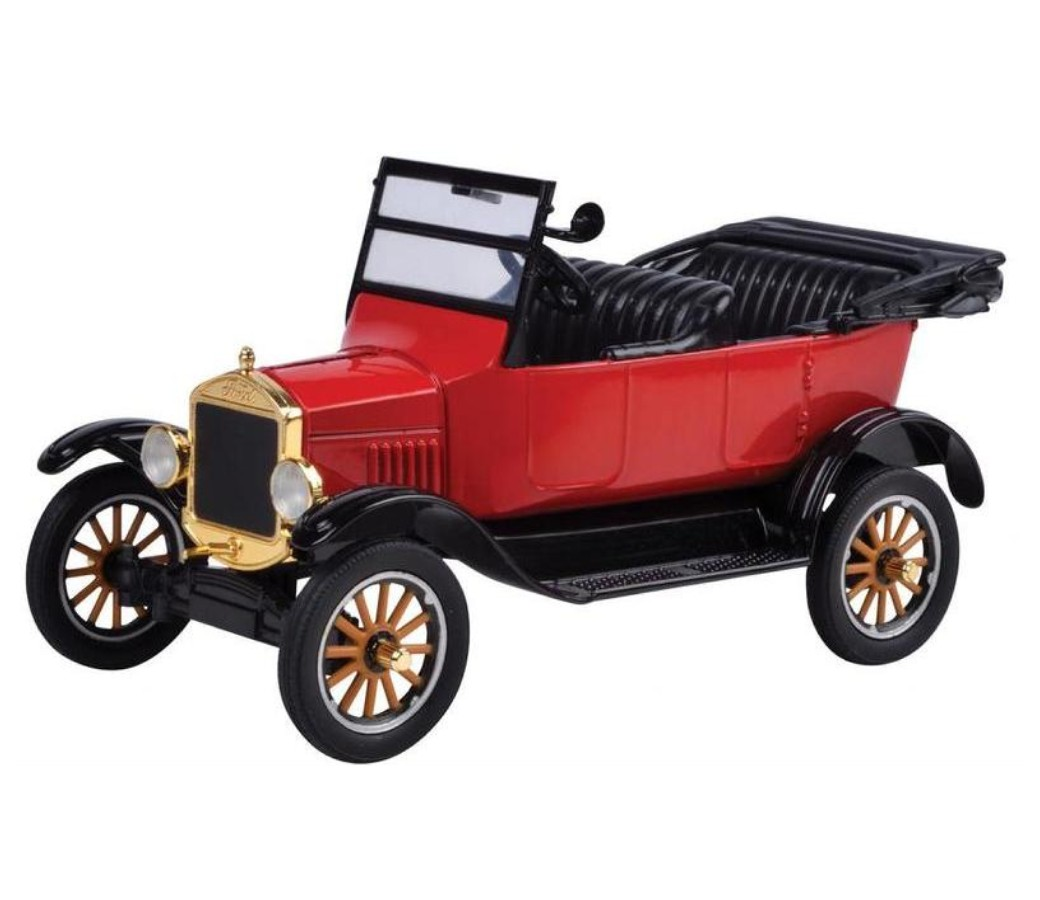 1:24 1925 Ford Model T - Touring convertible (Red) MM79328PTM