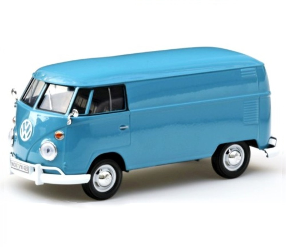 1:24 VW Type 2 (T1) - Delivery Van (Dove Blue) MM79342DB