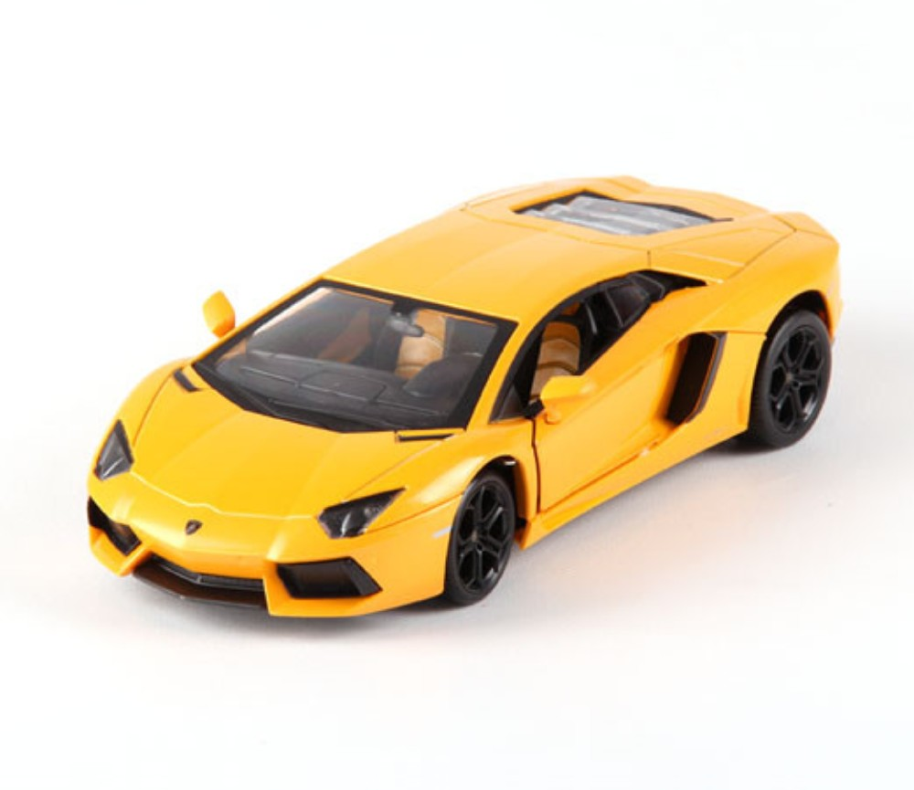 1:24 Lamborghini LP670 Yellow Colour MZ26021A-YL