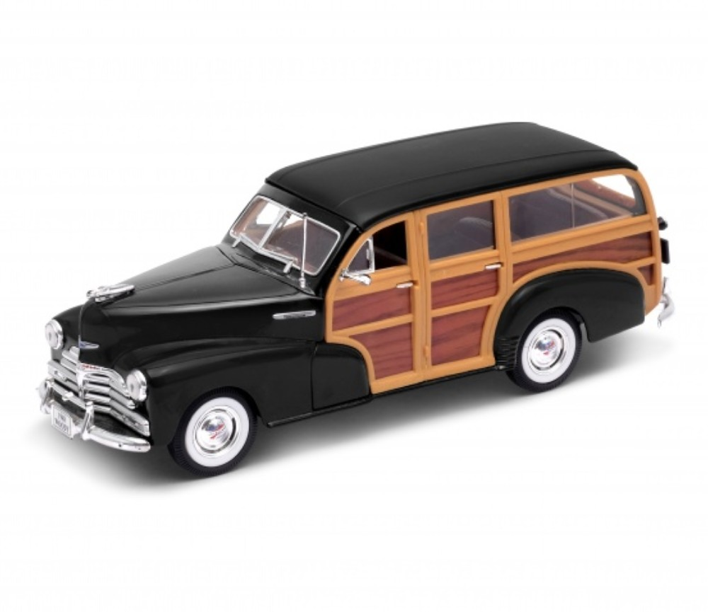 1:24 1948 Chevrolet Fleetmasrer (Black) WL22083W