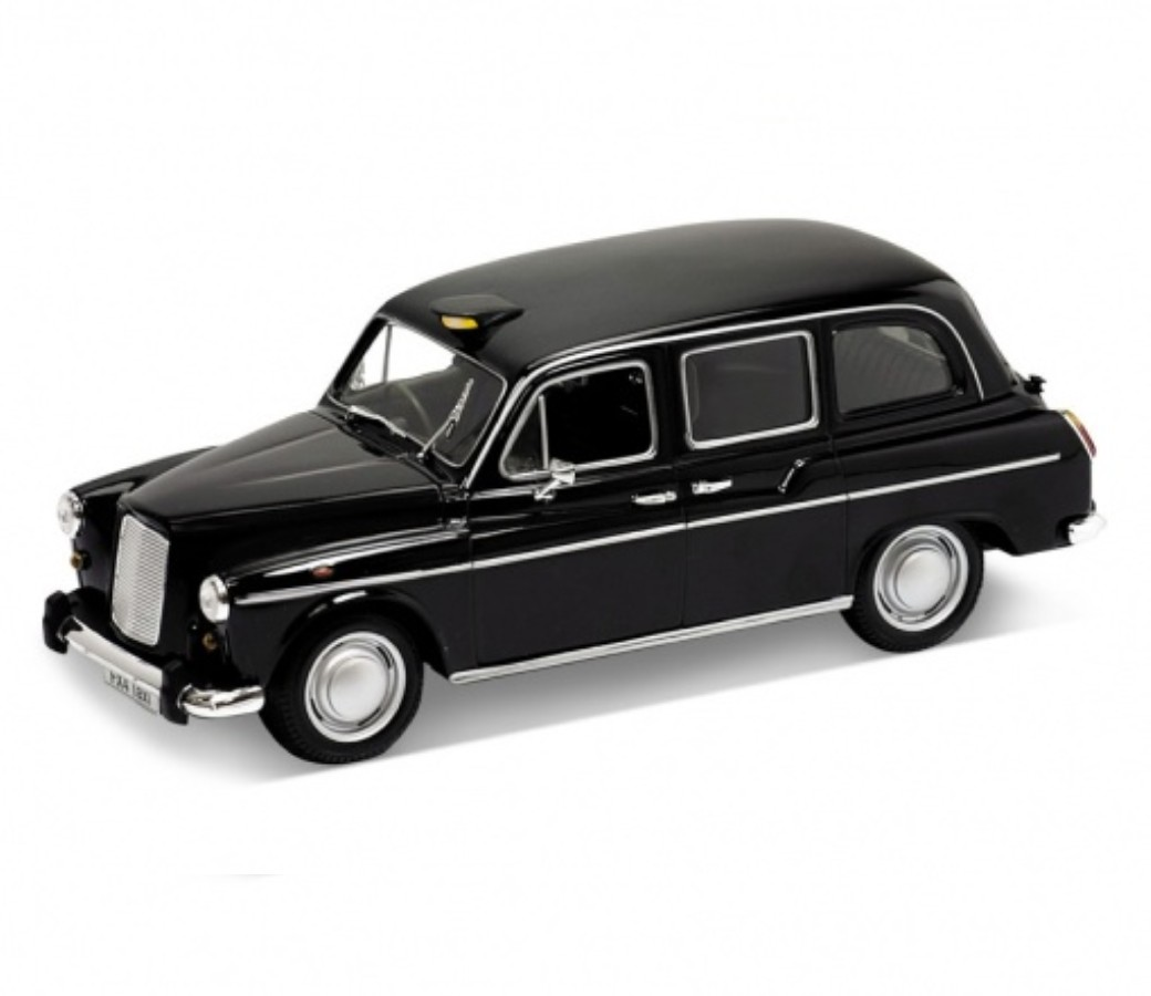 Austin FX4 London Taxi - 1:24 (Black) WL22450W