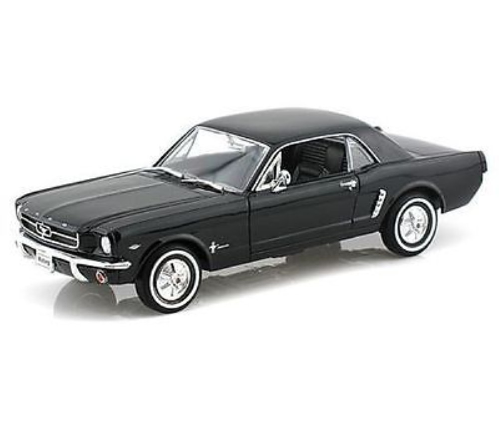 1:24 1964 1/2 Ford Mustang Coupe (Black) WL22451W