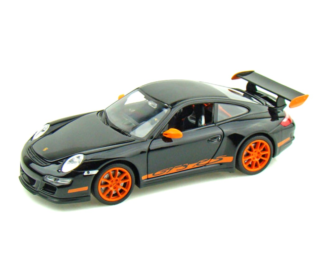 1:24 PORSCHE 911(997) GT3 RS (Black+Orange) WL22495W