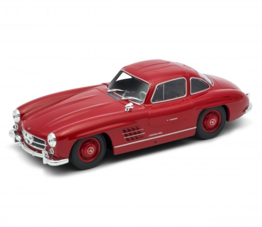 1:24 Mercedes-Benz 300 SL (Red) WL24064W
