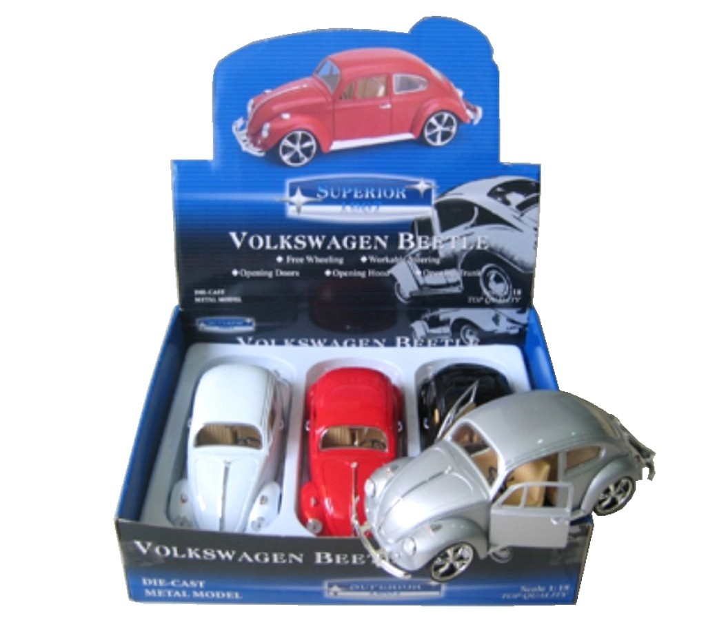 1:18 Classic Beetle Car (White Color Only) DC-2011