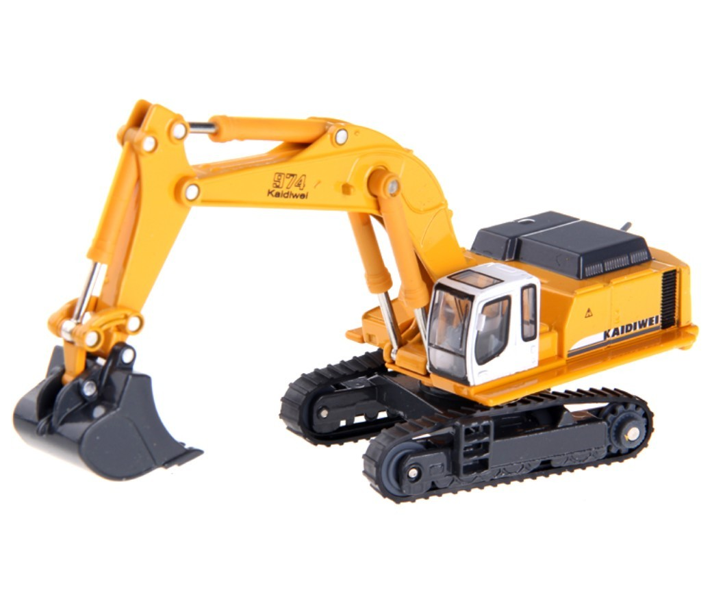 Tracked Excavator 1:87 Heavy Diecast Model DC-620006