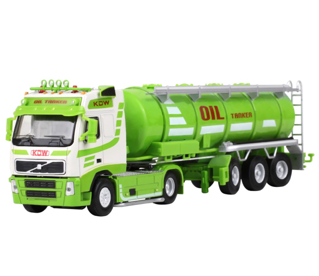 Oil Tank Truck 1:50 Heavy Diecast Model DC-620028